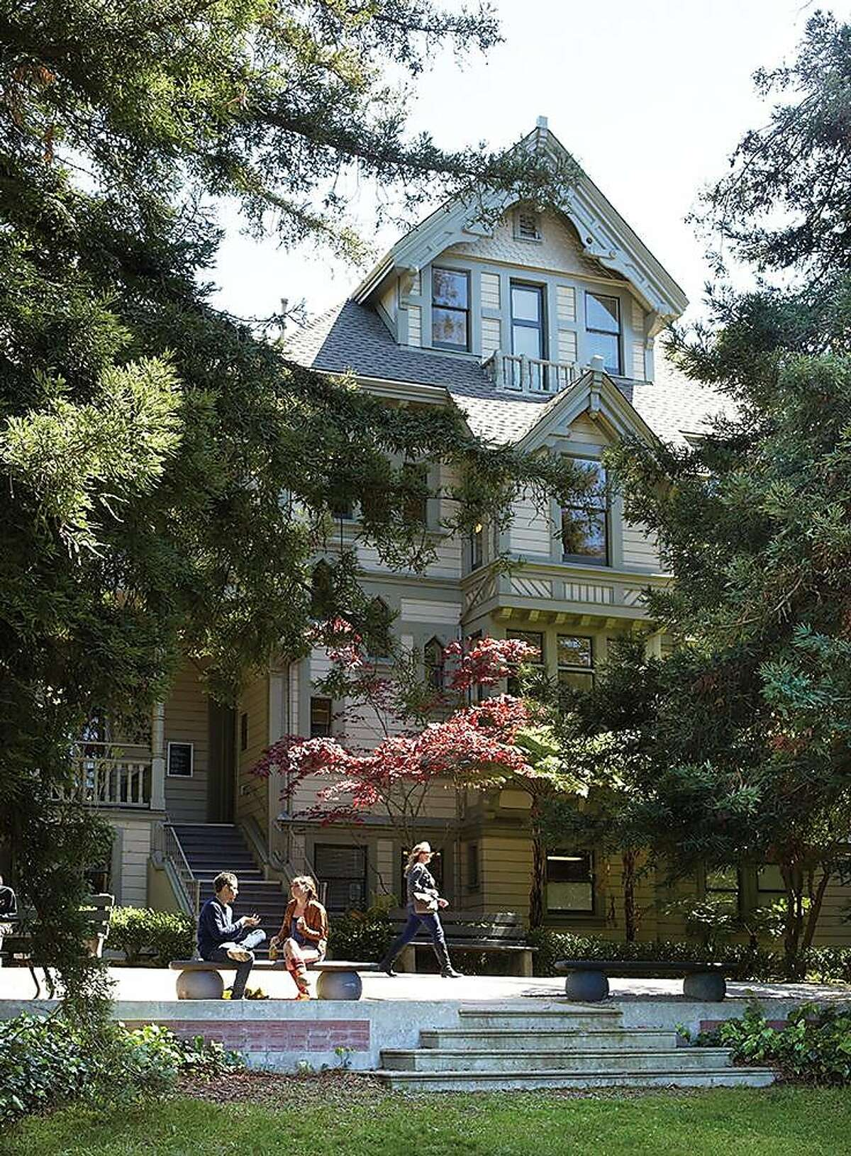 The Treadwell Mansion (now called Macky Hall), on the Oakland campus of the California College of the Arts, is listed on the National Register of Historic Places.