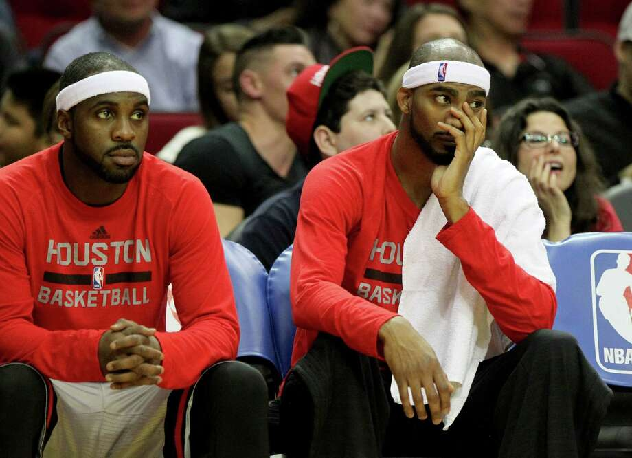 Ty Lawson (left) was so bad for the Rockets, the team just straight up released him in the middle of the season. So, it's no surprise he ended up on this list.Browse through the photos of the NBA's 25 worst players in the 2015-16 season. Photo: Gary Coronado, Staff / © 2015 Houston Chronicle