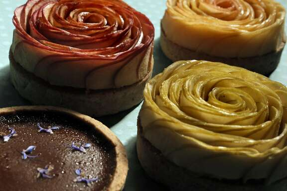 Several tarts made by Tarts de Feybesse, a new tart business out of San Francisco, Calif., on Monday, March 28, 2016.