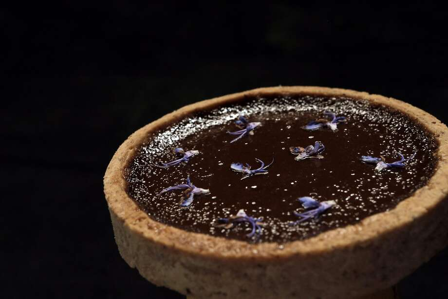 Monique and Paul Feybesse's tarts created a sensation on Instagram (@monicafeybesse) with photos of their handmade Guinness beer tart, above. Photo: Carlos Avila Gonzalez, The Chronicle