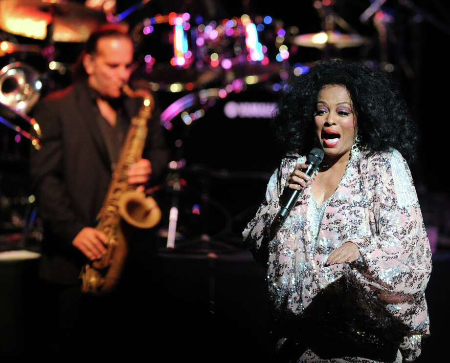 Diana Ross performs at the Palace Theater in Stamford, Saturday night, August 17, 2013. Photo: Bob Luckey / Bob Luckey / Greenwich Time