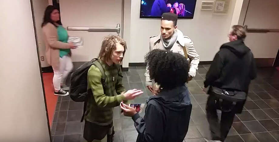 A black woman, said to be an employee at San Francisco State University, has stirred reaction after someone on Monday posted a YouTube video of her accosting a white student because of his dreadlocks.Take a look at some other notorious moments race and racism were in the news.