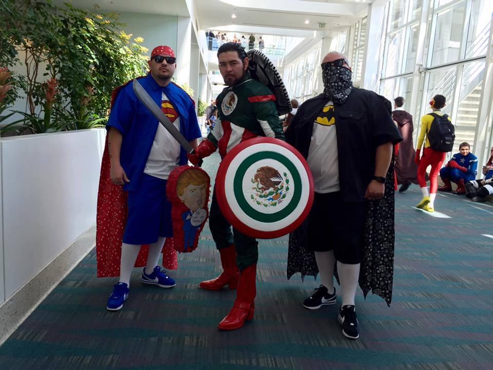 Captain Mexico Super Cholo And Vato Man Comic Con