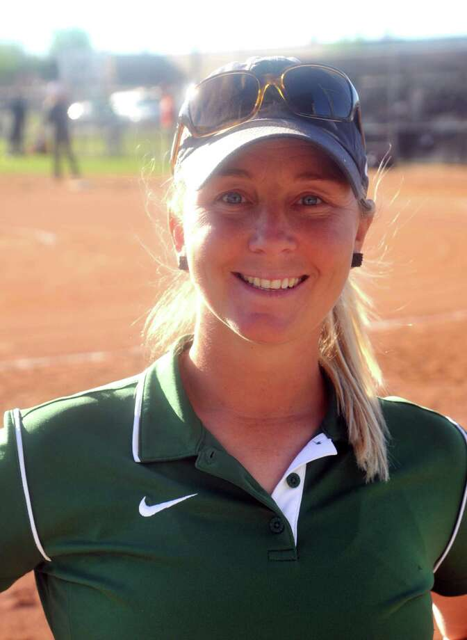 Mayde Creek varsity softball coach , Jill Voss. Photo: Eddy Matchette, Freelance / Freelance