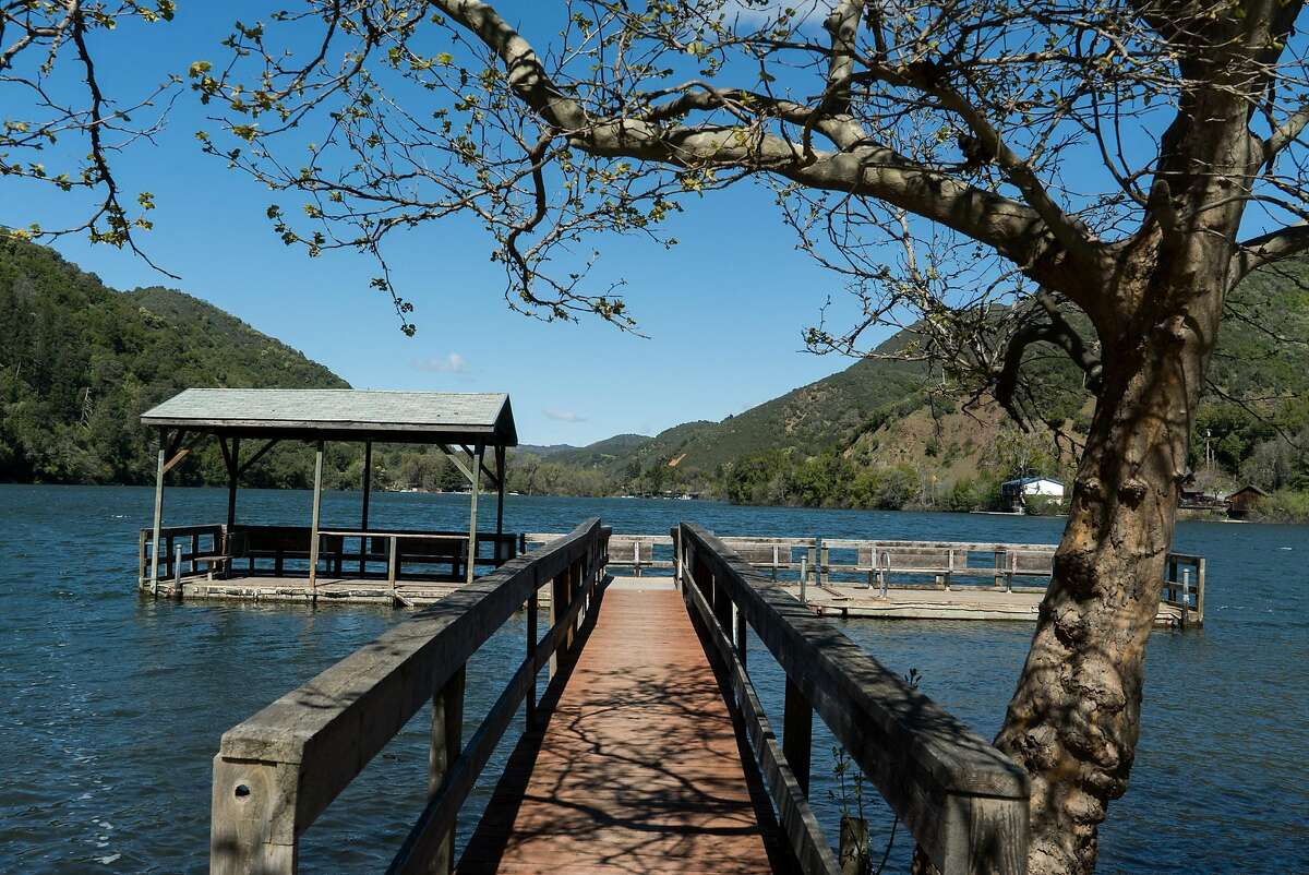 The Pine Acres Resort offers visitors a spot on Blue Lake at in Upper Lake, Calif. on Monday, March 28, 2016. Upper lake is a great alternative to Clearlake for lodging and swimming.