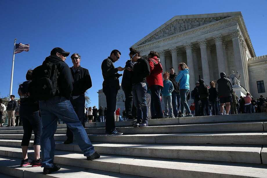 The vacancy created by the death of Justice Antonin Scalia has left the court divided. Photo: Win McNamee, Getty Images