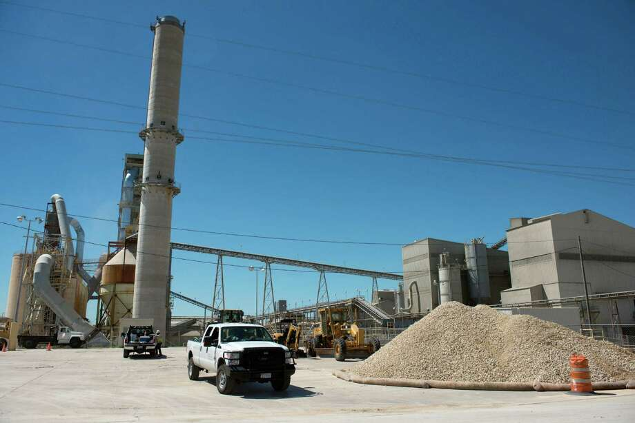 The Capitol Aggregates cement plant in San Antonio is shown in this photo from September 2013. Capital Aggregates is pursuing plans to open a rock quarry in Medina County. It would be its second quarry in the county, west of San Antonio. Photo: Photo By Darren Abate /Darren Abate /Express-News