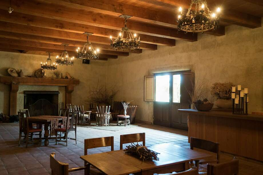 A tasting room turned event space in Ceago in Nice (Lake County). Photo: James Tensuan / Special To The Chronicle 2016