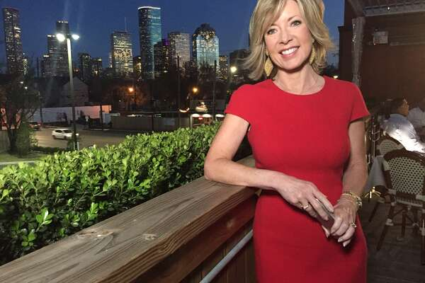 Tanji Patton, seen here with a Houston skyline backdrop, is happy   that Houston's NBC affiliate has joined her list of clients.