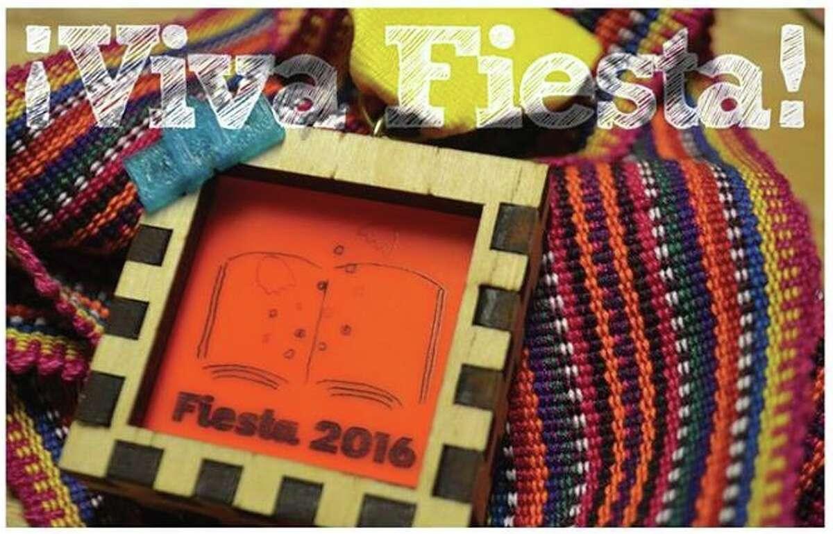 It's Fiesta medal DIY FTW. (Courtesy San Antonio Public Library)