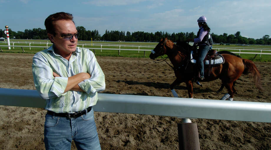 David Cassidy  at the  Oklahoma Training Track adjacent to Saratoga Race Course July 30, 2005. (Skip Dickstein/Times Union archive) Photo: SKIP DICKSTEIN / ALBANY TIMES UNION