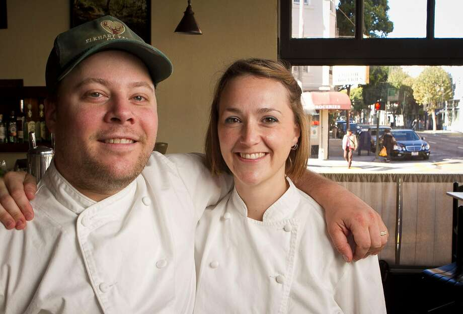Evan and Sarah Rich of Hayes Valley's Rich Table will be serving their popular porcini doughnuts at the ballpark. Photo: John Storey