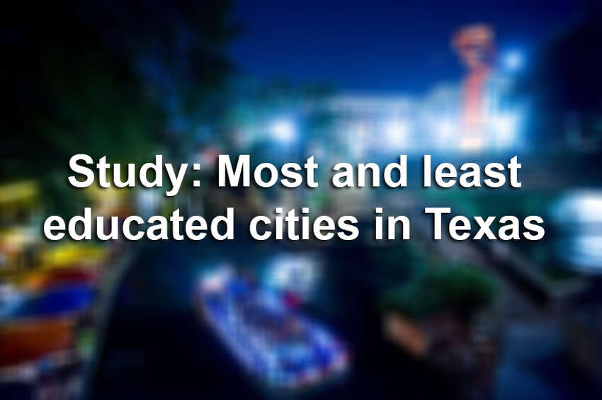 Click through the slideshow to see which Texas cities made the list.