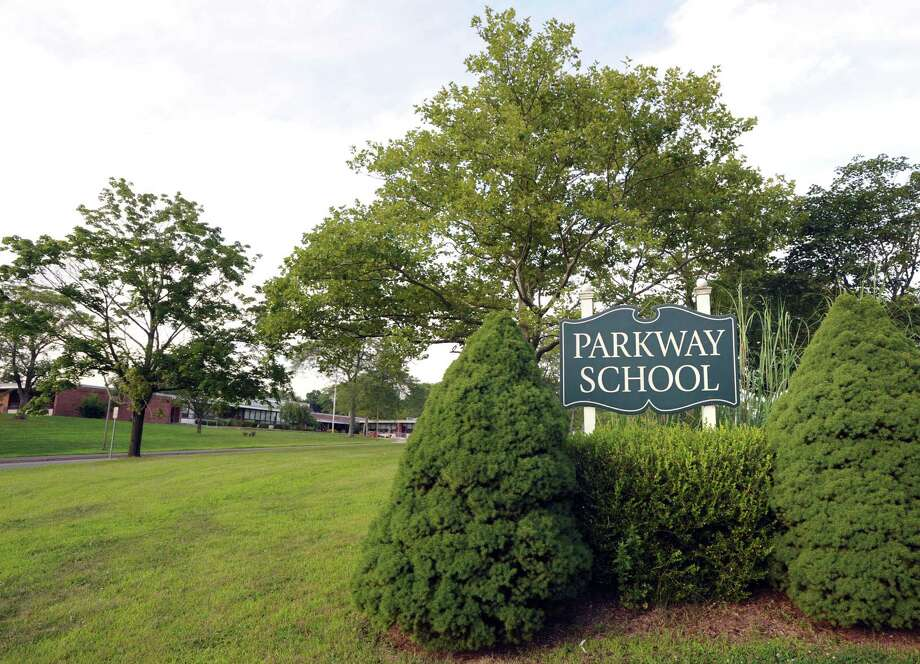 Parkway School drinking water showed no traces of lead, recent tests show. Photo: Bob Luckey / File Photo / Greenwich Time