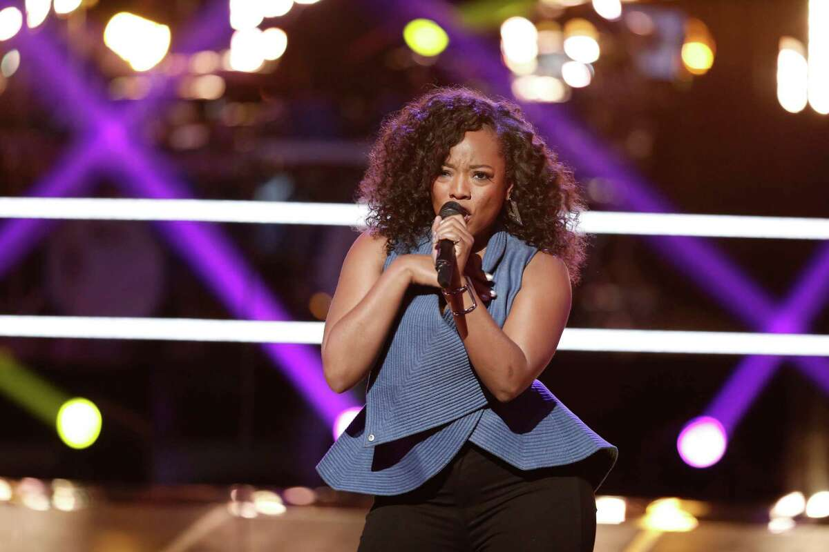 Houston native Tamar Davis is competing on 'The Voice.'