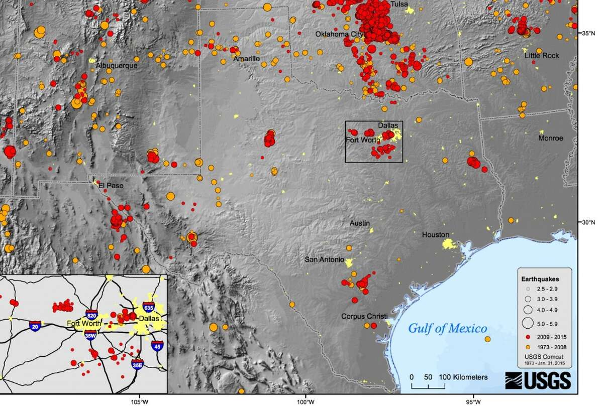 Texas has seen an increase in earthquake activity that experts attribute to fracking. But Texas has been affected by earthquakes for decades. Since the 1920s there have been nearly a dozen quakes that measured 4.5 or more on the Richter scale.