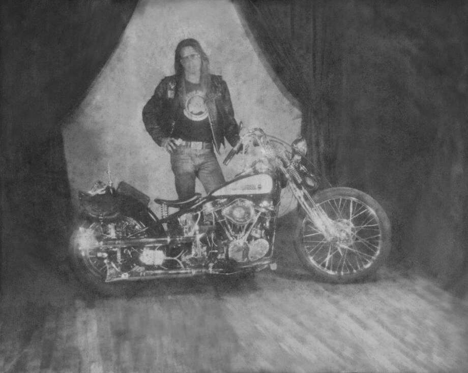 Jeff Pike, former president of the Bandidos Motorcycle Club, is shown in this 1979 photo. Pike, who lives in Conroe, joined the Bandidos that year and has been a member ever since. This was taken in Deadwood, South Dakota after Pike traveled there from Houston. (This photo is to first be used by the Houston Chronicle Web page before being clear for use by other Hearst publications.) Photo: Courtesy Of Jeff Pike
