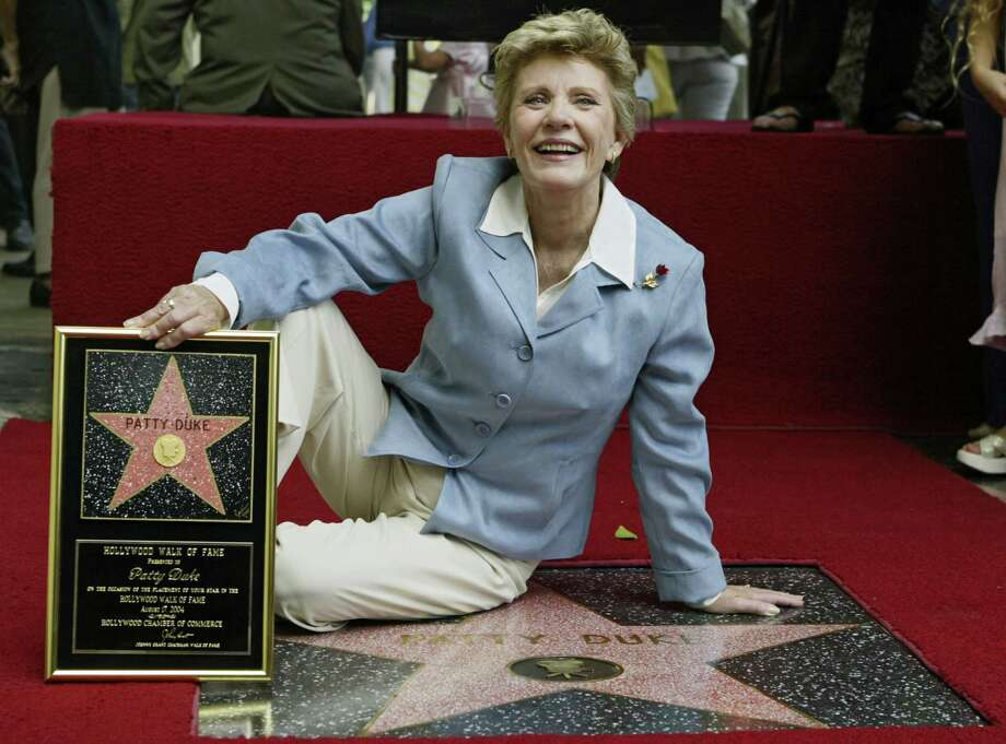 "Patty Duke was honored with a star on the Hollywood Walk of Fame in 2004. She was known for the popular 1960s sitcom ""The Patty Duke Show"" as well as her activism for mental health issues. Photo: DAMIAN DOVARGANES, STF / AP"