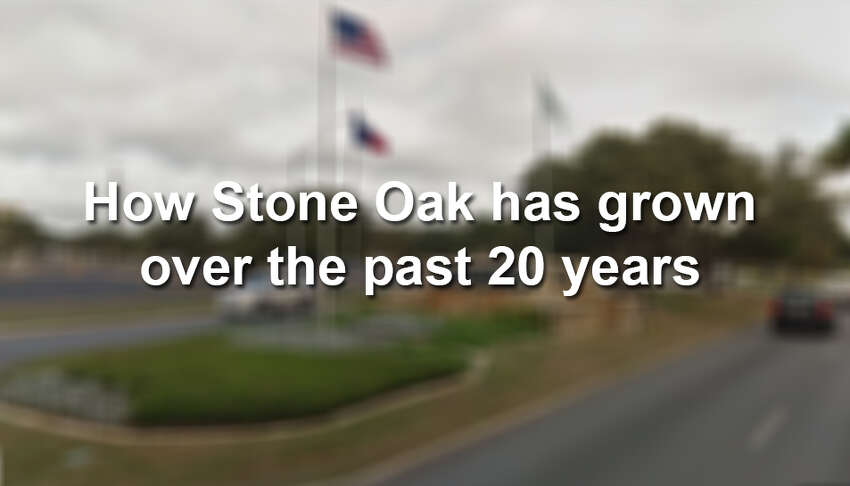 How Stone Oak has grown in the past 20 years