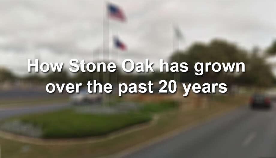 How Stone Oak has grown in the past 20 years Photo: Google Maps Screenshot
