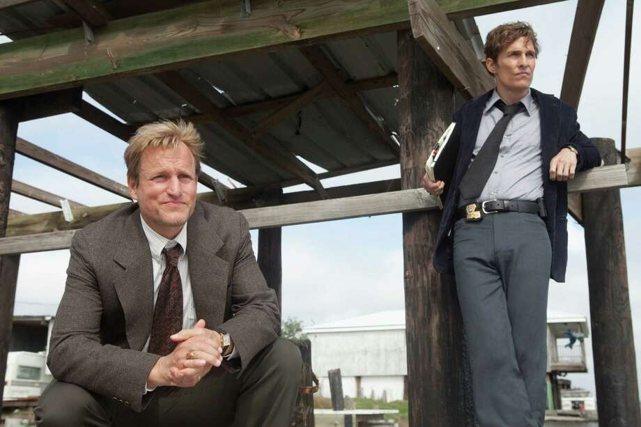 Woody Harrelson and Matthew McConaughey hit it out of the park as two Louisiana detectives investigating a gruesome murder in a new crime drama on HBO. Photo: JIm Bridges, Still Photographer / HBO