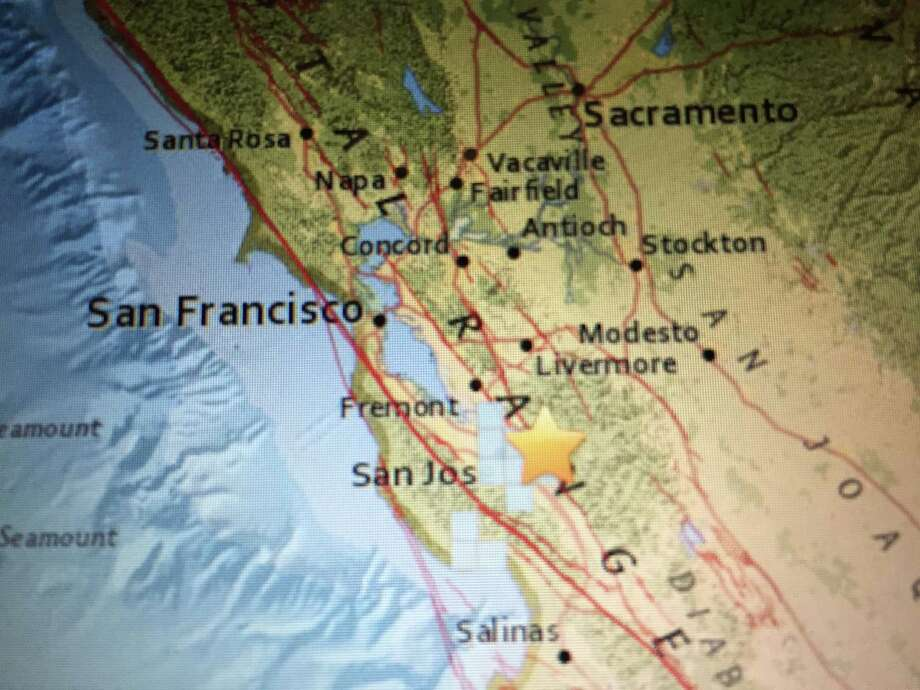 The quakes — measuring 2.7, 2.6, 2.5 and 3.2 magnitudes — hit between 