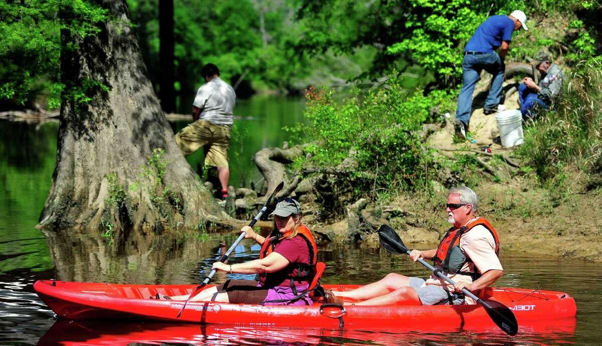 The Village Creek State Park near Lumberton has birdwatching, fishing, and canoe trip opportunities.
