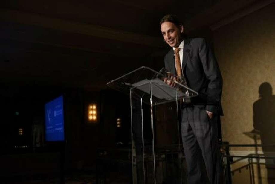 Visionary Award Winner Chase Adam. Photo: Michael Short