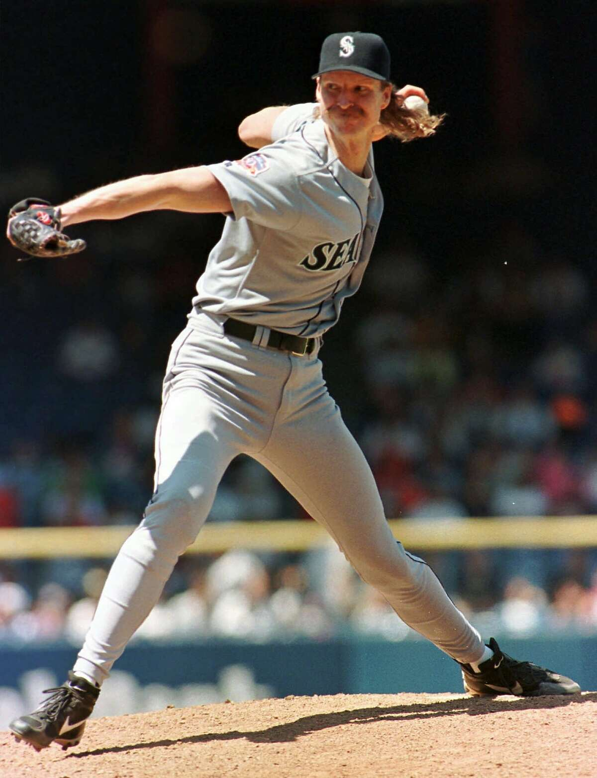 3. LHP Randy Johnson W-L with the Mariners: 130-74