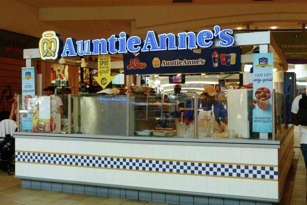 Auntie Anne's Pretzel Dogs