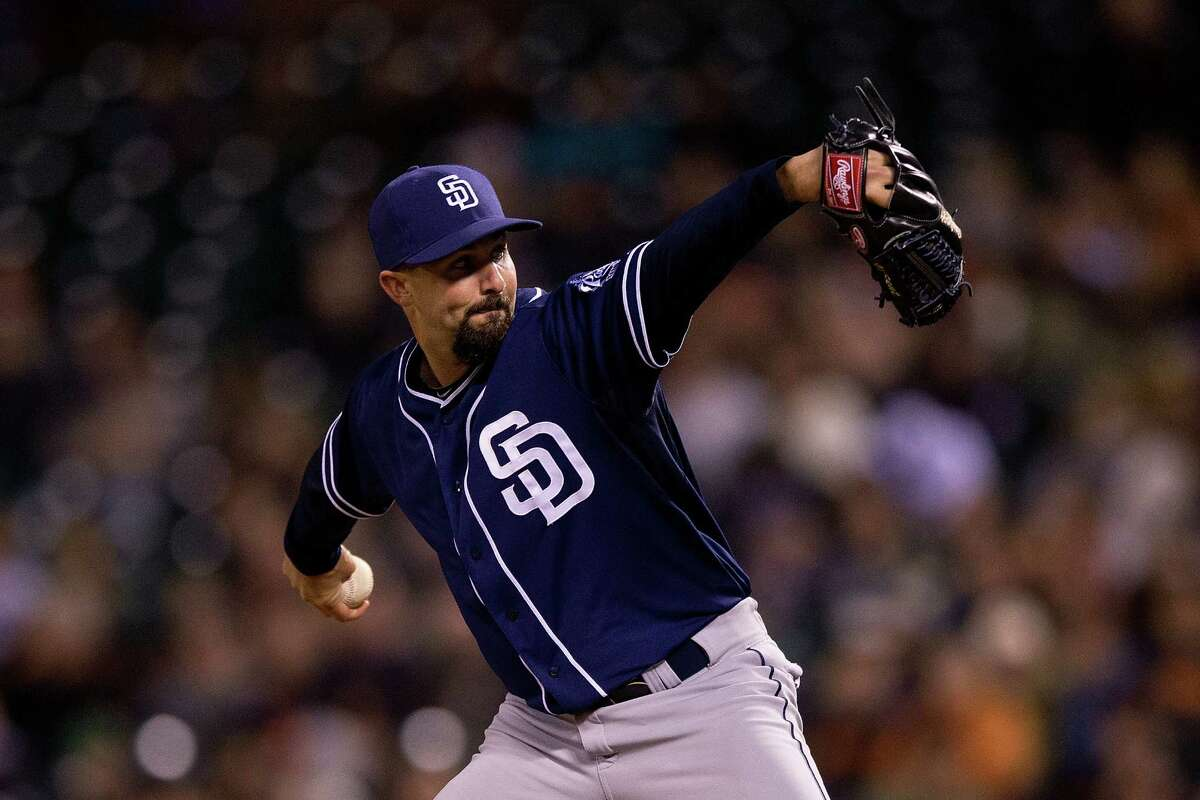 3. Nick Vincent trade Short on options because of injuries to Evan Scribner (lat), Ryan Cook (lat) and Charlie Furbush (shoulder), the Mariners' new-look bullpen is easily their biggest question mark entering the regular season. But Wednesday, they took strides to alleviate concerns by acquiring right-hander Nick Vincent from the Padres for a player to be named later. Manager Scott Servais has expressed confidence in the group, and adding Vincent gives them another capable arm behind closer Steve Cishek and primary setup man Joaquin Benoit.