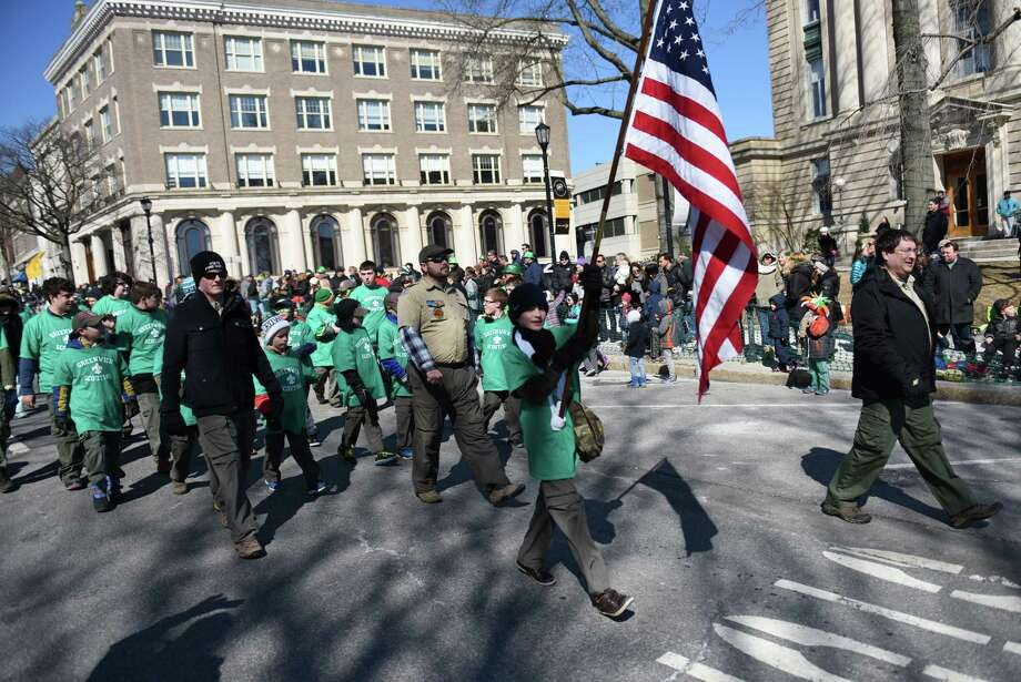 After the decision was made to cancel the annual St. Patrick's Day Parade,organizers say the blame should not go toward the town or the police department since the decision was their.. Photo: Tyler Sizemore / Tyler Sizemore / Greenwich Time