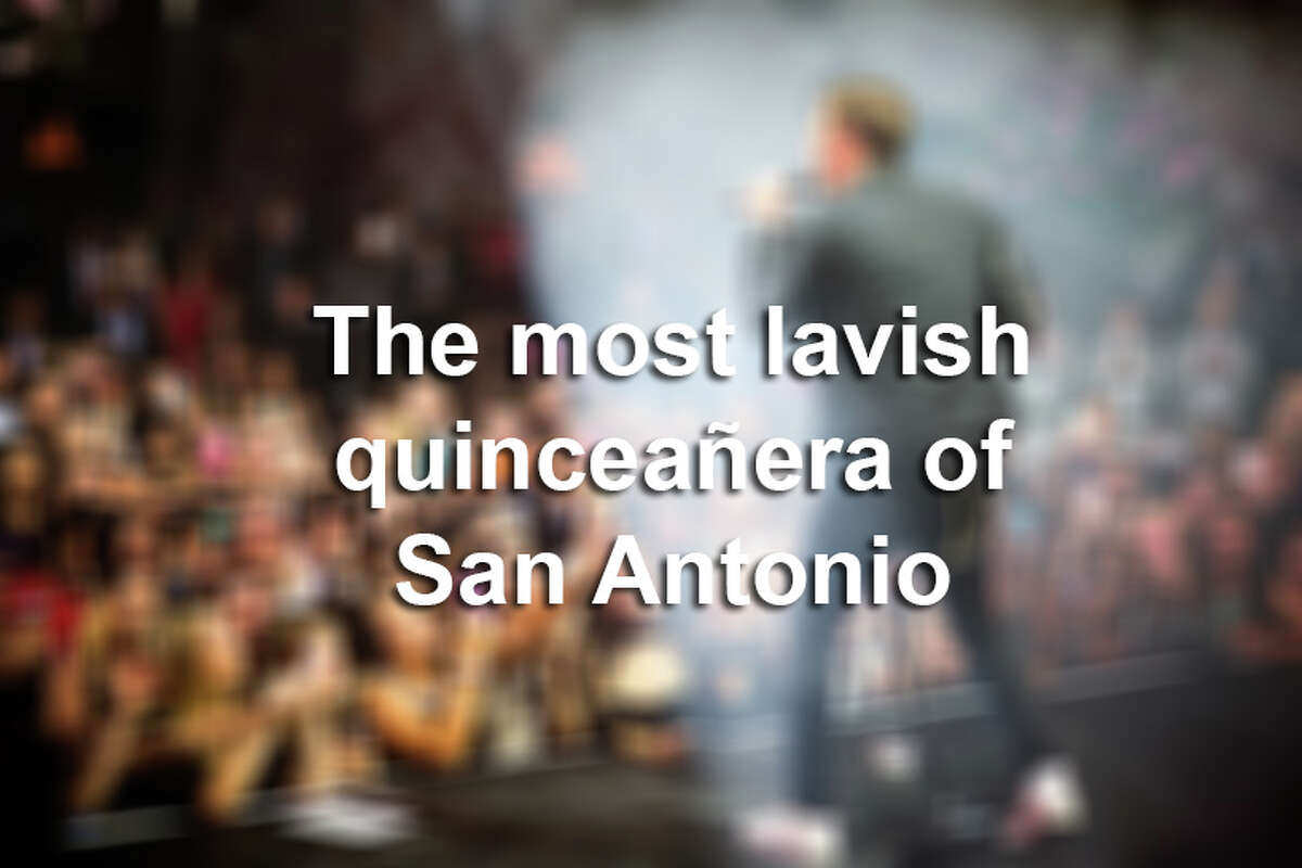 Click through the slideshow to see photos from the most expensive quinceañera San Antonio has ever seen.