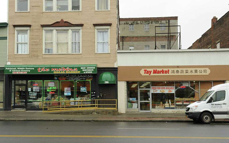 The Medina Halal Market and Tay (Vietnamese) Market on Central Ave. on Monday, March 28, 2016 in Albany, N.Y. (Lori Van Buren / Times Union)