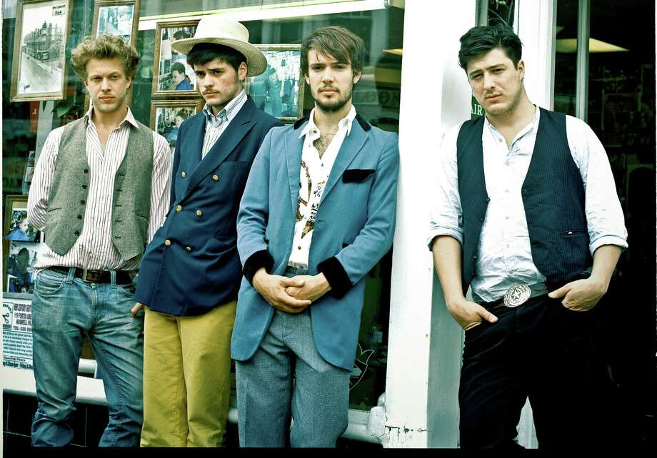 Mumford & Sons will perform Sunday in The Woodlands. Photo: Glass Note / ONLINE_YES