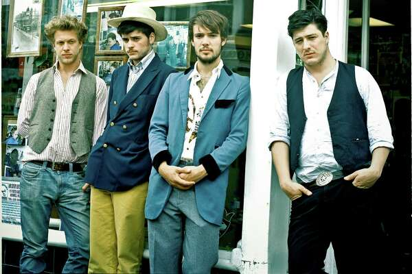 Mumford & Sons will perform Sunday in The Woodlands.