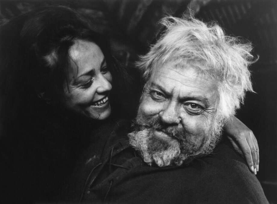 "Orson Welles (right) and Jeanne Moreau in ""Chimes at Midnight"" (1965), which has been restored in 4K. Photo: Janus Films / ONLINE_YES"