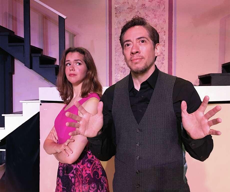 "Lauren Campion and Jef Maldonado star in Texas Light Opera's staging of ""Make Me a Musical."" Photo: Courtesy Jade Esteban Estrada"