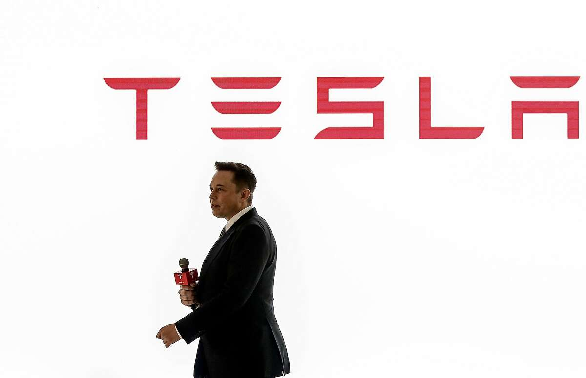Eberhard was initially the CEO of Tesla Motors before Elon Musk (pictured) was named the chairman of the board, and ultimately CEO of Tesla Motors.