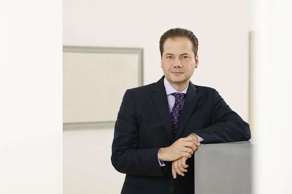 Max Hollein begins his new job as director of the Fine Art Museums of San Francisco June 1.