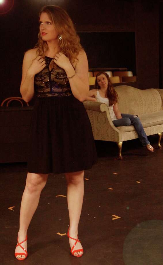 """Rachel Comish and Abby Storch star in """"Center of the Universe"""" at the Overtime Theater. Photo: Courtesy William M. Razavi"""