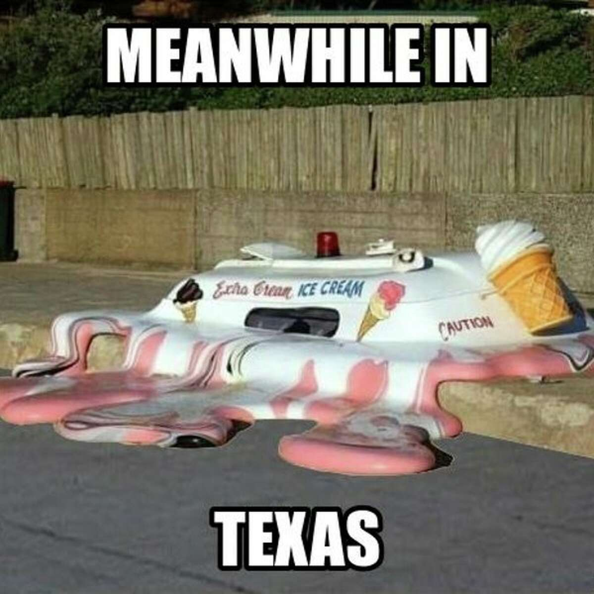 These Internet memes sum up how unpredictable Texas weather can be. ViaGuideLive.