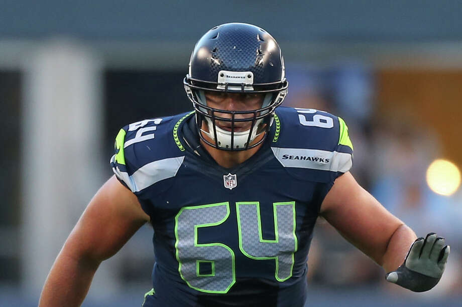 Seahawks guard J.R. Sweezy (foot) is questionable for Saturday's wild-card game at Dallas. Coach Pete Carroll said the seven-year veteran will be a game-time decision. Photo: Otto Greule Jr, Getty Images / 2012 Getty Images