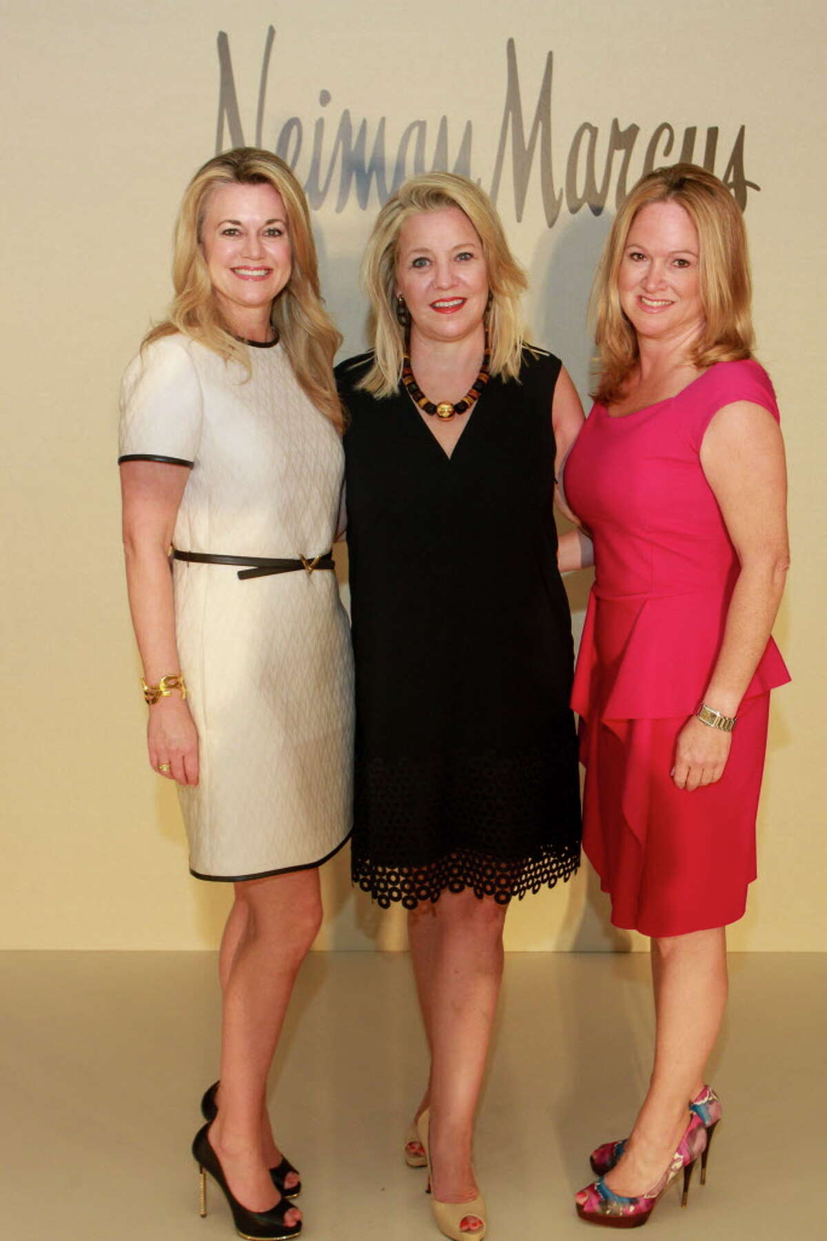 Chairs Millette Sherman, from left, Elizabeth Vail and Kiki Wilson at the St. Luke's Friends of Nursing Luncheon.