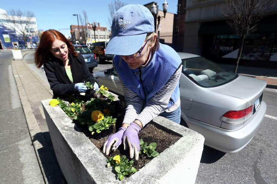 VolunteeringConnecticut average: 27.8 percentU.S. average: 25.4 percentSource: 2016 Connecticut Civic Health Index Photo: Michael Cummo, Hearst Connecticut Media / Stamford Advocate