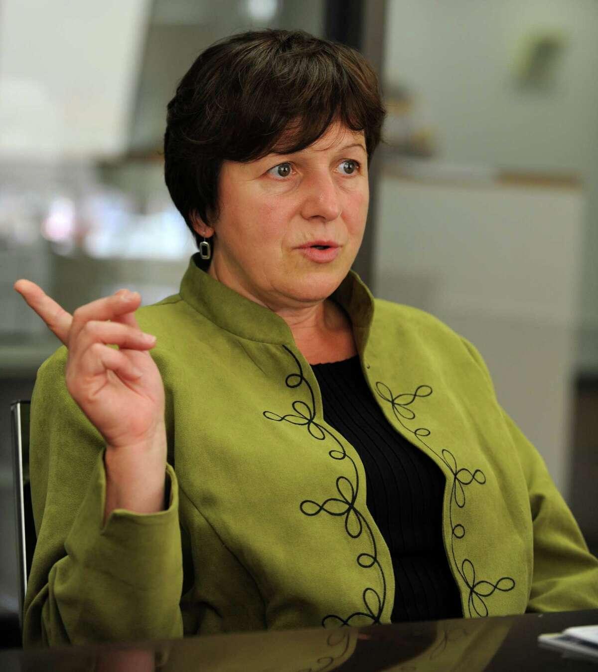 Derby Mayor Anita Dugatto