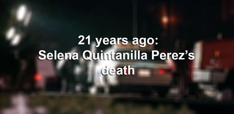 Click through the slideshow to see old photos surrounding the death of Tejano singer Selena Quintanilla-Perez.