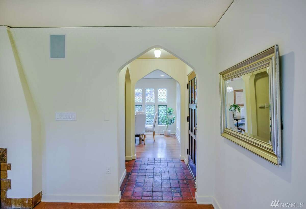 The entryway of 1602 E. Lynn St. The home is spread over almost 3,000 square feet.