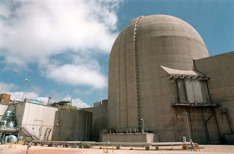 FOR FOCUS 97 ADVANCE - Photo of the nuclear power plant in Bay City. Photo: DOUG SEHRES, STAFF / SAN ANTONIO EXPRESS-NEWS
