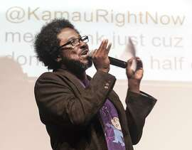 Political comedian W. Kamau Bell is now broadcasting on KALW